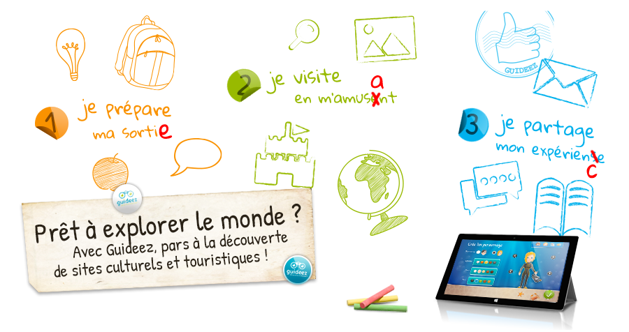 Guideez - Apprends en t'amusant !